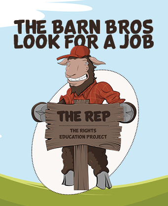 REP employment cover