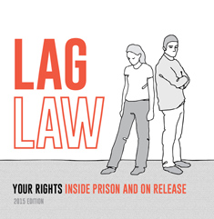 Lag Law: Your rights in prison and on release front cover